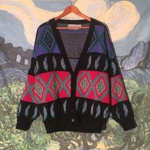ultimate vintage 80s oversized cardigan